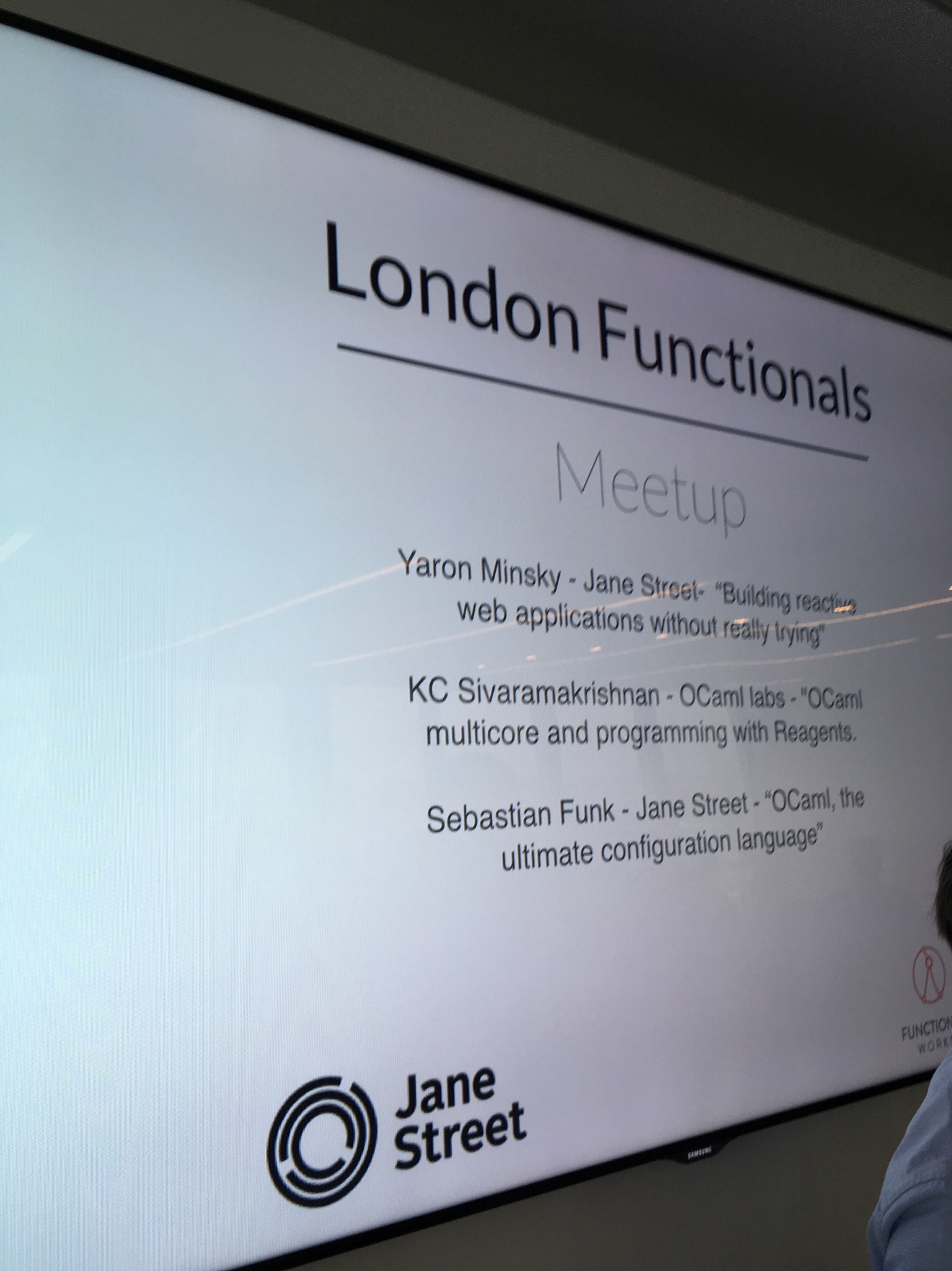 Multicore OCaml and Reagents - LDN Functionals @ Jane Street